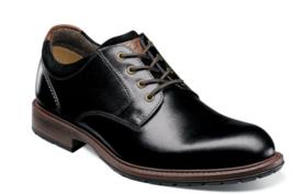 Florsheim Vandall Plain Toe Oxford Dressy Shoes Black 15173-001 - €92,29 EUR