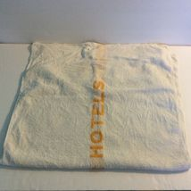 Manger Hotels Bath Towel White Orange 100% Cotton HW Baker Linen Co Cannon Mills image 3