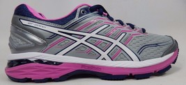 Asics GT 2000 v 5 Women's Running Shoes Size US 9 2A NARROW EU 40.5 Silver T760N