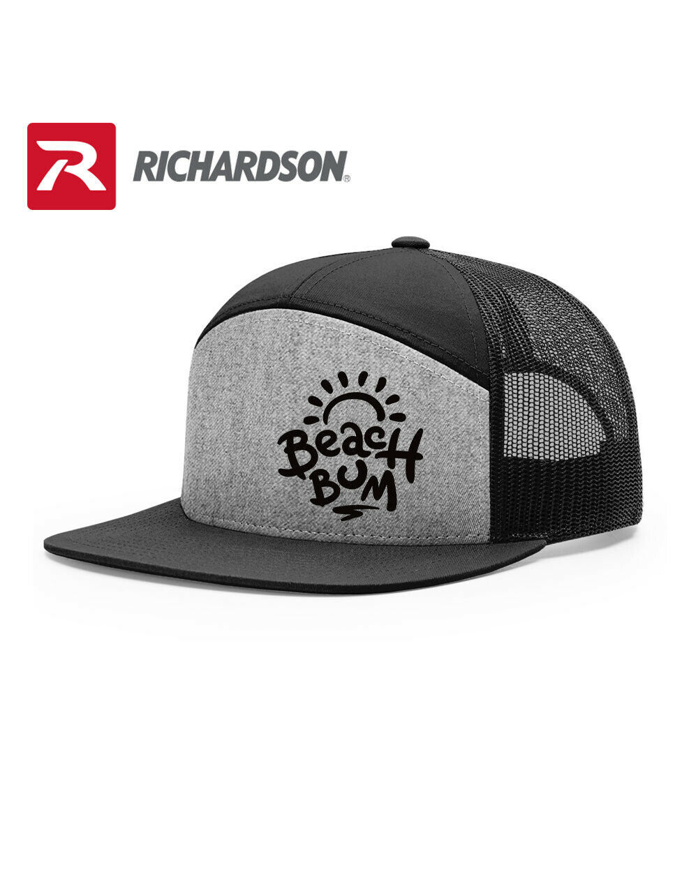 Primary image for BEACH BUM SURFER LOVER RICHARDSON FLAT BILL SNAPBACK HAT * FREE SHIPPING in BOX*