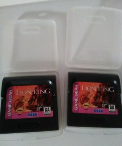 1 The Lion King (Sega Game Gear, 1995) Virgin Handheld Video Game Simba Nala