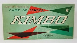 Vintage 1960 Kimbo Board Game Parker Brothers Game Of Fences Complete  - $21.77