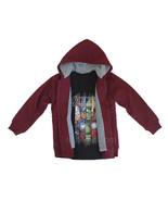 NEW Marvel Avangers Assemble 2 Pcs Set Sherpa Jacket Long Sleeve and T-s... - $29.99