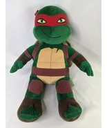 """Build a Bear Teenage Mutant Ninja Turtle Raphael Plush 18"""" 2014 Stuffed ... - $14.95"""