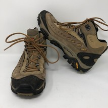 Merrell Mens Pulse II Waterproof Mid Loden Taupe Leather Hiking Boots Sz 11 Hike - $54.69
