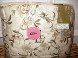 Ralph Lauren Romantic Traveler Cal King Bedskirt Nip - $47.48