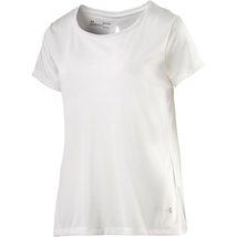 Under Armour Women's Whisperlight Short Sleeve Foldover Shirt Size S Whi... - $16.33