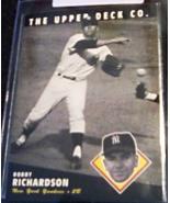 1994 Upper Deck Bobby Richardson Coppertown Collection Baseball card num... - $3.75