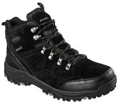 Men's SKECHERS Relaxed Fit: Relment - Pelmo Boot, 64869 /BLK Sizes 8.5-1... - £71.07 GBP