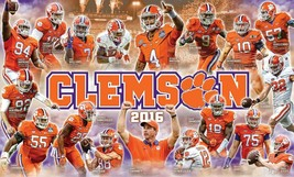 2016 Clemson Tigers 8X10 Photo Team Picture Ncaa Football - $3.95