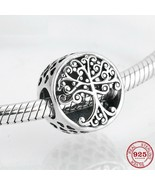 family is where love grows 925 Authentic Silver Original Pandora Charm B... - $9.95