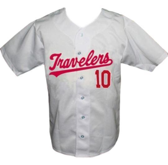 Arkansas travelers retro baseball jersey 1960 button down white   1