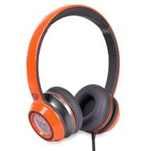 Monster N-Tune High Performance On-Ear Headphones w/3.5mm Plug(Neon Orange) - $40.07