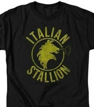 The Italian Stallion Rocky Balboa Retro 70's 80's movie graphic T-shirt MGM209B image 2