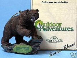 Brown Bear Christmas Holiday Ornament - Field & Stream - $11.60