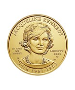 2015 US Mint Jacqueline Kennedy 1/2 oz $10 Dollar .9999 Solid Gold Coin ... - $924.72