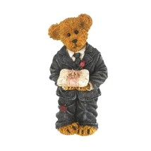 "Boyds Bearstone ""Junior...Ring Bearer Extraodinaire"" #4026235 -  New - $29.99"