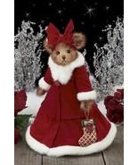 "Bearington Bears ""Rosetta Poinsettia""  14"" Collector Musical Bear- #1431... - $49.99"