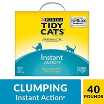 Purina Tidy Cats Clumping Cat Litter, Instant Action Multi Cat Litter - ... - $19.44
