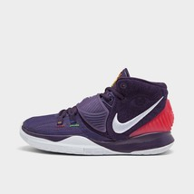 KYRIE 6 YOUTH SIZE 1.0 TO 7.0 GRAND PURPLE WHITE NEW RARE COMFORTABLE AU... - $128.69+