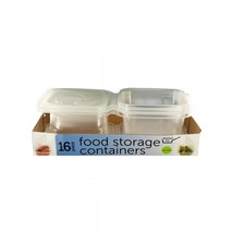 Food Storage Containers With Attached Lids OF852 - ₨2,601.07 INR