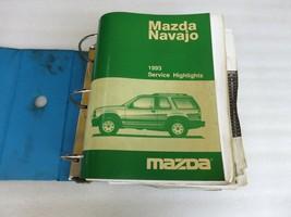 1993 Mazda Navajo Service Repair Manual OEM Factory Dealership Workshop Set - $4.64