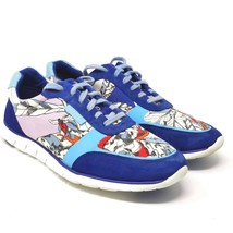 Cole Haan Womens Blue Zerogrand Classic Trainer Sneaker W01947 Floral 7.5B - $84.13 CAD