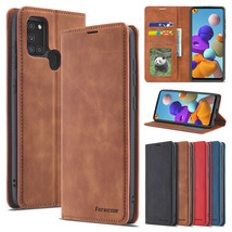 For Samsung Galaxy A01/A11/A21s/A81/A91/A31 Leather MAGNETIC FLIP COVER ... - $46.24