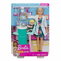 New Barbie Careers Baby Dentist Doll Play set + girl - $25.83