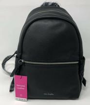 Vera Bradley Mini / Baby Black Leather Backpack - $168.00