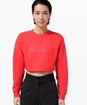 Lululemon All Yours Cropped Crew农历新年〜Love Red〜2〜免运费-$ 159.95