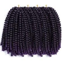 Valentines Day Gifts Aigemei 4 Packs Spring Twist Hair Crochet Braids Ombre Brai
