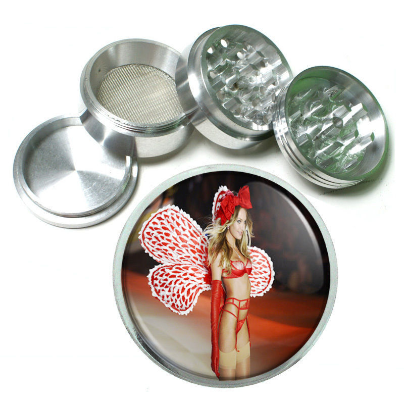 "Primary image for Russian Pin Up D3 Aluminum Herb Grinder 2.5"" 63mm 4 Piece"