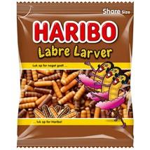 Haribo Labre Larver gummy bears -325g-Made in Denmark FREE SHIPPING - $15.30