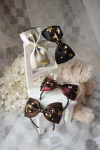 Ribbon Bow Knot Hair Band (Moon and Stars) for BJD SD and MSD/YoSD Dolls... - $8.90