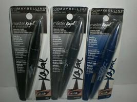 Maybelline Eye Studio Master Kajal Cream Waterproof Eyeliner Lot of 3 Pi... - $15.85+