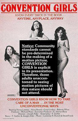 Primary image for Convention Girls - 1978 - Movie Poster