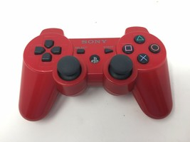 Sony PS3 PlayStation3 Wireless Red Controller - CECHZC2U - $18.69