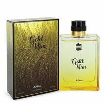 Ajmal Gold by Ajmal 3.4 oz 100 ml EDP Spray for Men New in Box - $30.35