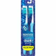 Oral-B 3D White Vivid 35 Soft Manual Toothbrush, 2 count - $8.49