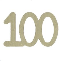 Confetti Number 100 Gold - As low as $1.81 per 1/2 oz. FREE SHIP - $3.95+