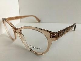 New Versace Mod. 5032 Brown 52mm Cats Eye Women's Eyeglasses Frame Italy #2 - $169.99