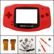 Nintendo Game Boy Advance Cable Backlight Backlit Adapter AGS 101 Red Mo... - $22.81