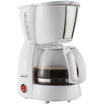 Brentwood Appliances TS-213W 4-Cup Coffee Maker (White) - $34.38