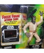 1997 Lak Sivrak Wolf Man Freeze Frame POTF Star Wars Figure Power Force NOS - $19.35