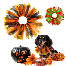 Pet Dog Cat Accessories Halloween Christmas Collar Dogs Cats Scarf Costu... - $17.99