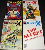 4 1989-1990 NOW Comics RACER X Comic Books Vol 2 #1 2 3 & 4 - $12.99