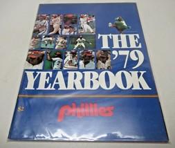 1979 Yearbook Philadelphia Phillies VG/NM Mike Schmidt Pete Rose Steve C... - $10.90