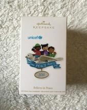 Hallmark Keepsake UNICEF Peace Christmas Ornament New - $9.89