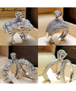 Majestic Couple  Engagement Rings for women and men 2 pcs - $39.49